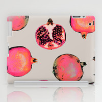 Pomegranate Pattern iPad Case by Georgiana Paraschiv