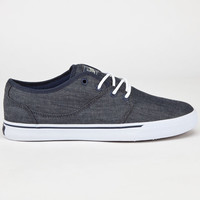 Globe Mahalo Mens Shoes Blue Chambray  In Sizes