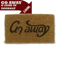 Come In/Go Away Doormat - Lazybone