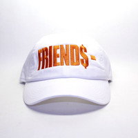 Friends Vlone Inspired Dad Cap In White