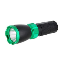 Outdoor Camping Super Bright LED Flashlight Torch (Green)
