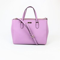 Kate Spade Large Saffiano Leather Leighann Laurel Way Satchel