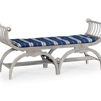 Double Lucca bench by William Yeoward