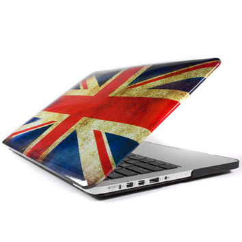 Hard Case Print Crystal (Flag) for 13 Macbook Pro with Retina Display