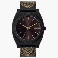 Nixon The Time Teller P Watch Black/Gold One Size For Men 24408477401
