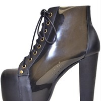 Jeffrey Campbell Cleata Black