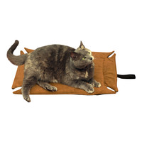 Evelots® Self Heating Pet Bed Pad, Cats & Dogs, Soft, Brown, Non Electric,S,M,L