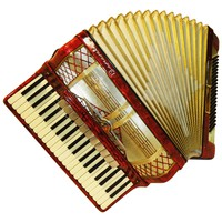 Barcarole, 120 Bass, 13 Registers, German Piano Accordion, 620