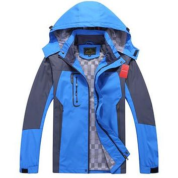 Men's Waterproof Windpoof Jackets