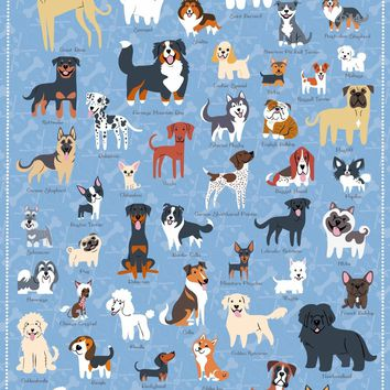 Dogs of America, 500 Piece Jigsaw Puzzle