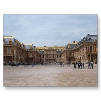 Chateau de Versailles postcard from Zazzle.com