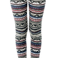 Women Tribal Leggings Yoga Fitness Workout Gym Beach Pants Streetwear Girls Clothing Fashion Yoga Life Style Ethnic Pants Boho Leggings