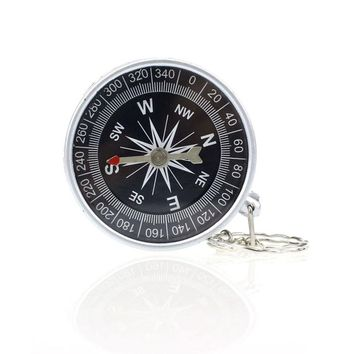 MUQGEW New Professional Keychain Outdoor Camping Plastic Compass Hiking Hiker Navigation Useful Compasses Camping Equipment