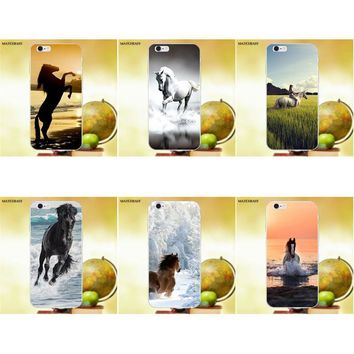 Enjoy Broncos Horse Running Soft TPU Protector Cases For Apple iPhone X XS Max XR 4 4S 5 5C SE 6 6S 7 8 Plus X