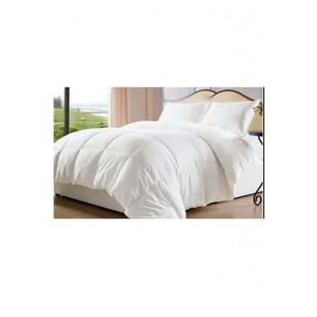 White Down Alternative Comforter/ Duvet Cover Insert in Twin Size