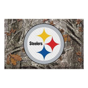"Pittsburgh Steelers NFL Scraper Doormat"" (19""x30"")"""