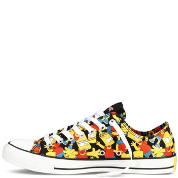 Converse - The Simpsons Chuck Taylor All Star - Low - Black / Multi