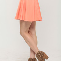 Peachy Skater Skirt