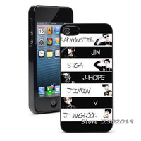 BTS KPop Hard Phone Case Cover iPhone or Samsung