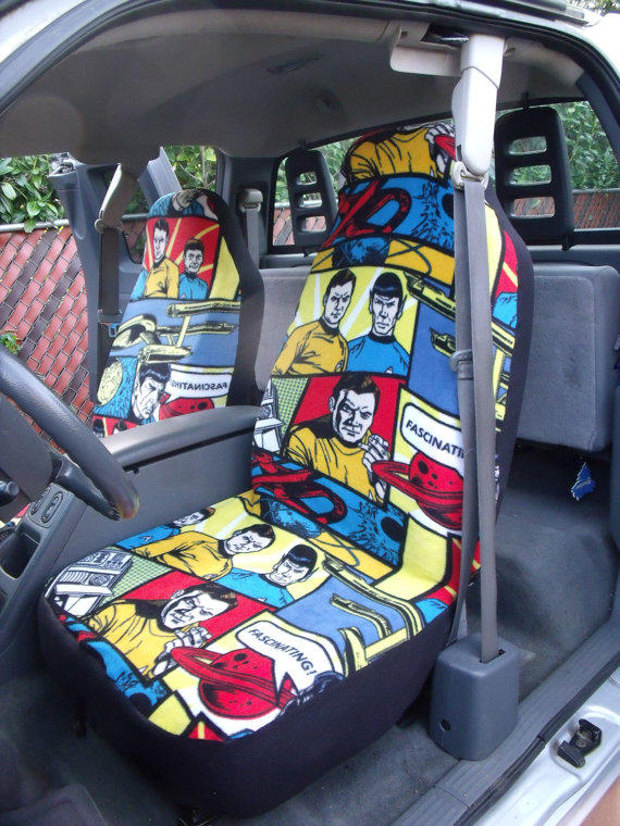 Print Car Seat Covers a