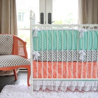Lacey Dot Crib Bedding