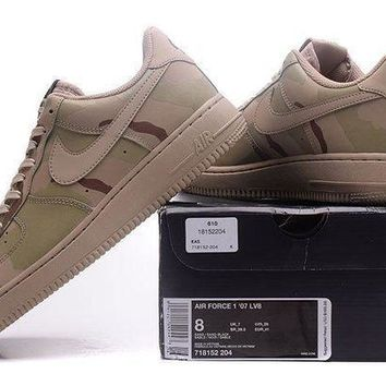 Nike Air Force 1 Lv8 Camouflage For Women Men Running Sport Casual Shoes Sneakers