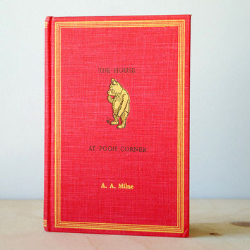 1961 The House At Pooh Corner by A.A. Milne Winnie The Pooh Vintage Book HC