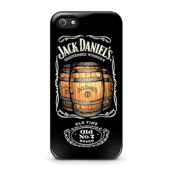 jack daniels iphone 5 5s se case cover  number 1