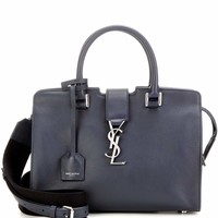 Baby Cabas Monogram leather tote