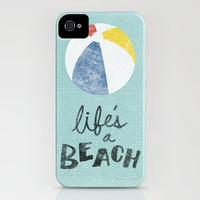 Life's a Beach. iPhone Case by Nick Nelson | Society6