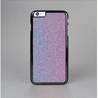 The OverLock Pink to Blue Swirls Skin-Sert Case for the Apple iPhone 6