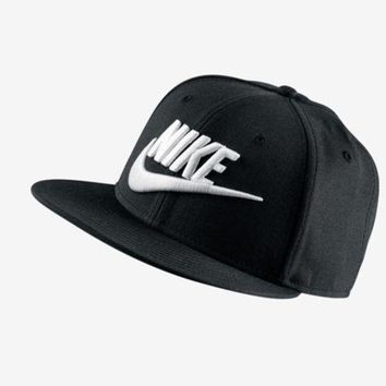 Nike 584169 010 Men Hat Puchula Snapback Cap Black