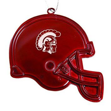 University of Southern California - Chirstmas Holiday Football Helmet Ornament - Red