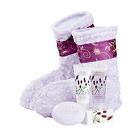 Relaxation Booties with Lavender-Spa Booties Only