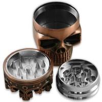 Crowned Skull Herb Grinder (Assorted) #21 (1, A)
