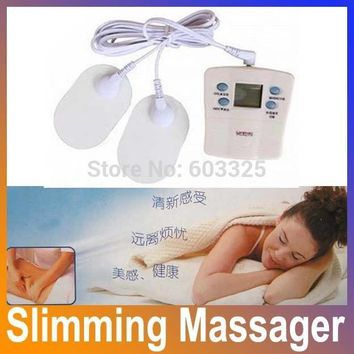 Slimming Massager Electronic Health care Mini Therapy Massage Body Building Weight Loss Relaxation Product HA1008 Free Shipping