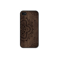 Mandala iPhone 5 Case - Mandala iPhone Case - Mandala iPhone 5c Case - Wood iPhone 5 Case - Wood iPhone 5c Case - Mandala iPhone 4 Case