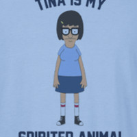 Bob's Burgers Tina Is My Spirit Animal T-Shirt Tee