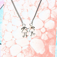 Ladies in Love  Lesbian Pride Necklace LGBT Gift for by Exaltation