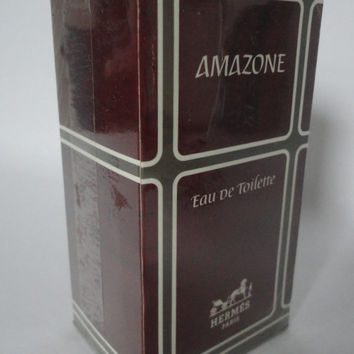 Vintage Hermes Amazone eau de toilette, 115ml, old version, New, still wrapped in box