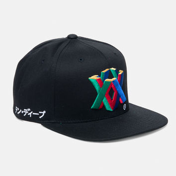 10Deep | Accessories | X64 Snapback - Black