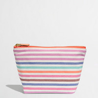Factory stripe pouch - Phone Cases & More - FactoryWomen's Handbags & Accessories - J.Crew Factory