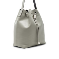 Gvyn Yuri Bucket Bag in Cement & Silver | REVOLVE