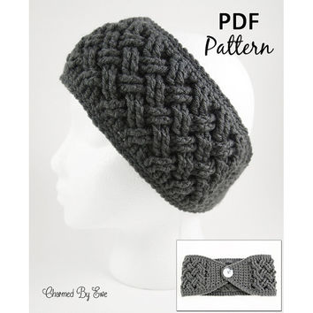 Celtic Dream Head Wrap Crochet Pattern - Ear Warmer, Headband - Toddler to Large Adult