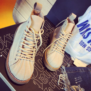 Winter Warm Soft Comfortable Lace Up Shoes