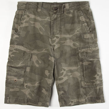 Charles And A Half Mens Cargo Shorts Camo  In Sizes