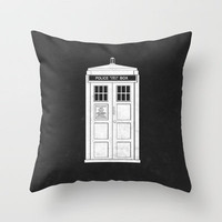 DOCTOR WHO Throw Pillow by John Medbury (LAZY J Studios) | Society6