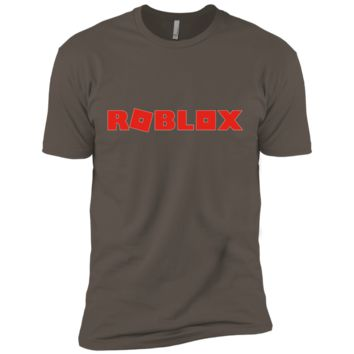 Roblox Swordpack T-shirt NL3600 Next Level Premium Short Sleeve T-Shirt