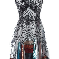 Graphic Multi Color Mini Dress | Moda Operandi