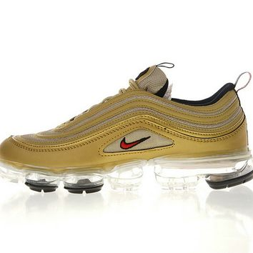 Nike Air Vapormax 97 Gold Red shoe